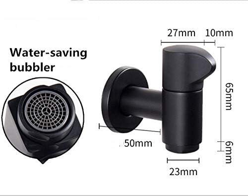 6 mm Gancio per doccia Nero Nero, 4er Pack