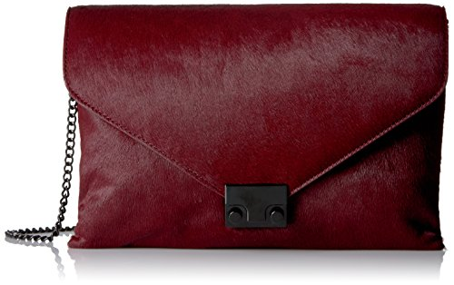 LOEFFLER Bag Maroon RANDALL Lock Haircalf Evening rIqrpRwP