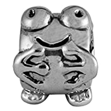 Happy Frog - Pandora Style Beads, Pandora Style Charms, Pandora Style Bracelets