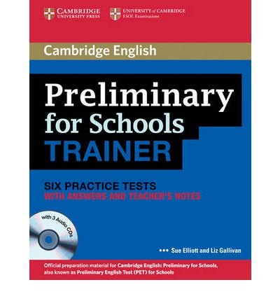 [(Preliminary for Schools Trainer Six Practice Tests with Answers, Teacher's Notes and Audio CDs (3))] [Author: Sue Elliott] published on (November, 2011) pdf epub