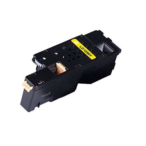 4Benefit Yellow Compatible Toner Cartridge Set for Dell 1250 1250c 1350cnw 1355cn 1355cnw