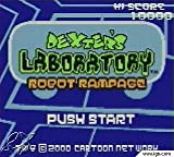 Dexter's Laboratory - Robot Rampage GBA Instruction Booklet (Game Boy Advance Manual Only)