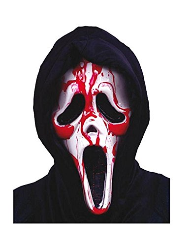 Bleeding Ghost Face Ghostface Reaper Mask Adult Costume Accessory Halloween