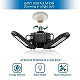 LED Garage Lights Deformable LED Garage Ceiling