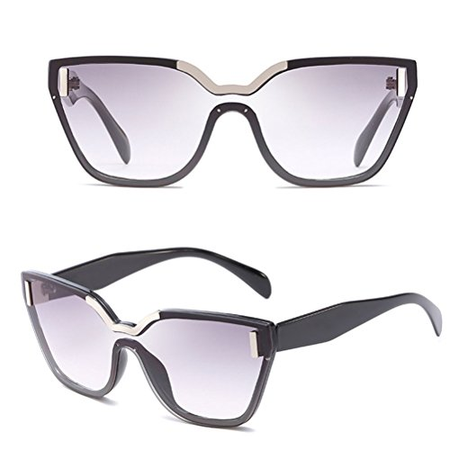 Femme Zhhlaixing Soleil Vue Sports Color Protection Ideal For Sunglasses Ocean Driving amp;gray Stylish Holiday Uv Black De Cycling Lunettes wwr4qf