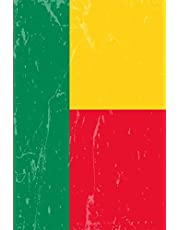 Benin Flag Journal: Blank lined Notebook to write in
