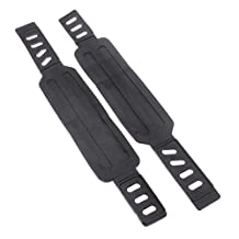 Kabalo - Universal Exercise Bike Gym Cycling Machine Replacement Pedal Straps