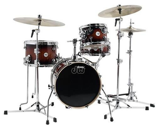 DW Design Series Mini-Pro 4-piece Shell Pack - Tobacco (Pro 4 Cymbal Pack)