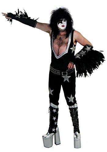 Authentic Paul Stanley Costume - L/XL Black -