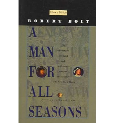 an analysis of the play a man for all seasons He was primarily a man of the law, and when he defends himself in the play he always goes by the law, not religious sentiment, so you see the other courtly figures conspiring against him by rewriting the rules in their favor  a man for all seasons: a play in two acts robert bolt 45 out of 5 stars 96 paperback $1201 a man for all.