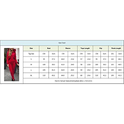 Avec Longues Survêtement S Long Poches Mode Et De Bleu Jogging À Capuche Sportwear Les xl Sweat Mxssi Costumes Pantalon Pour Manches Femmes Ensemble Tenues w1qv6