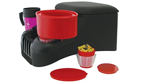 Furry Travelers To Go Pet Bowl, Red by Furry Travelers, Inc.