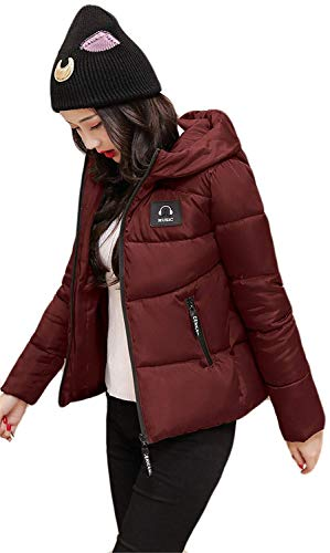 Quilting Blouson Femme Hiver Chaud paissir Capuchon Doudoune Slim Fit Elgante Manches Longues Fashion Outdoor breal Outwear Chemine Stepp Winered