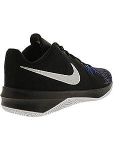 30777ad18f9c5 ... NIKE Men s Zoom Evidence II Basketball Shoe (Black Metallic. upc  091204221520 product image1. upc 091204221520 product image2