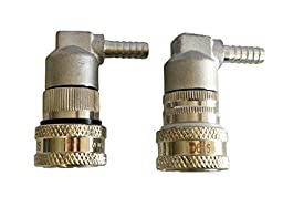 Ball Lock Disconnects Stainless Steel Barb Set (Liquid and Gas)