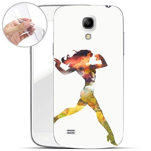 FINOO Wonder Woman Silicona Samsung Galaxy S4 / S4 Mini ...