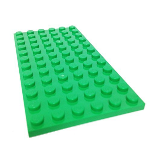Lego Parts: Plate 6 x 12 (Bright
