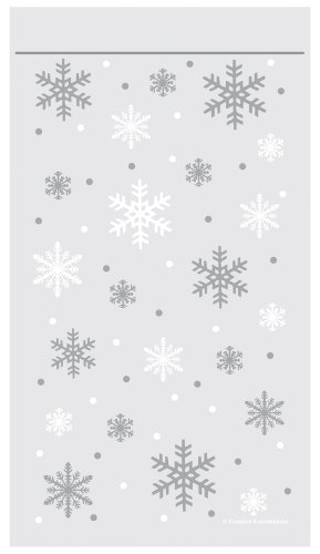 Creative Converting 71016 Snowflake Closure