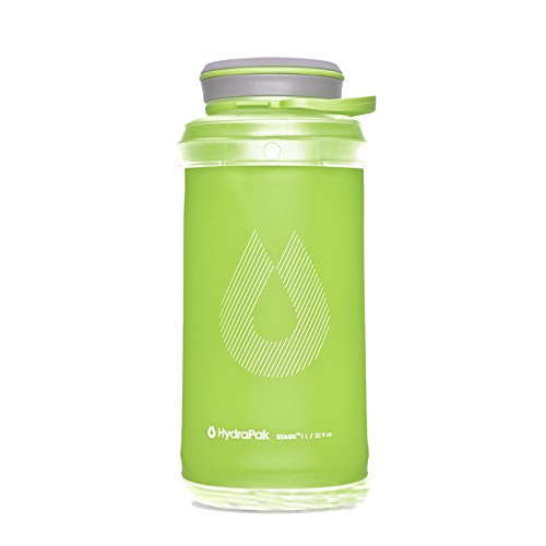 Hydrapak Stash 1L Flexible Water Bottle, Sequoia Green