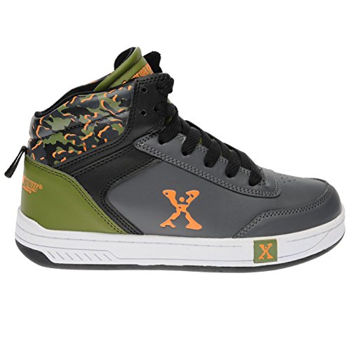 Skate Sport Chaussures Orange Grn Top Enfant Hi Sidewalk Gris qIXdq