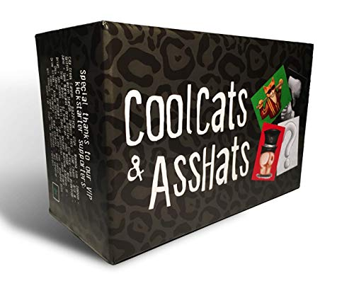 Cool Halloween Games For A Party (CoolCats & AssHats - The Funnest Adult Party / Drinking Card)