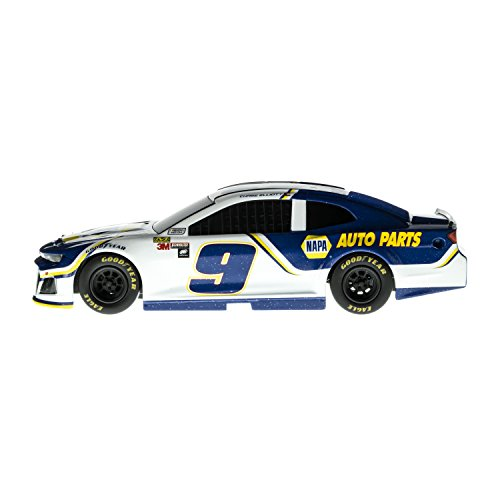 (Lionel Racing Nascar Authentics 2018 Chase Elliott #9 Napa Diecast, White, Blue, Yellow, 1: 24 Scale)