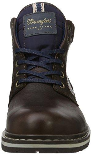 Wrangler Miwouk, Zapatillas de Estar por Casa para Hombre Marrón - Braun (30 Dk. Brown)