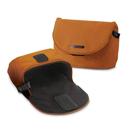 Digital Pouch Exilim Camera Case - ELECOM Digital Camera case Casual Type LL Dimensions Orange DGB-066DR