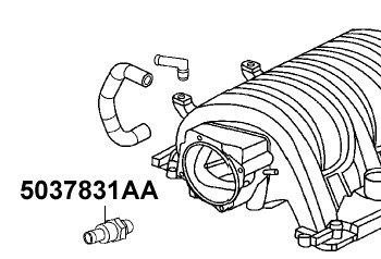 Mopar 5037831AA Positive Crankcase Ventilation Valve