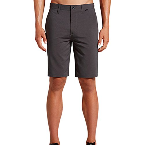 Hurley Men's Dri-Fit Heather Chino Black Pants - Mens Blended Chino