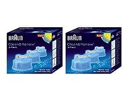 Braun Syncro Shaver Clean & Renew Refill...