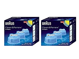 Braun Syncro Shaver Clean & Renew Refills 6 Pack (B00454ZTEO) | Amazon price tracker / tracking, Amazon price history charts, Amazon price watches, Amazon price drop alerts