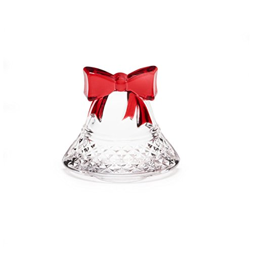 Celebrations by Mikasa by Rejoice Crystal Bell Tealight Holder, 4-Inch