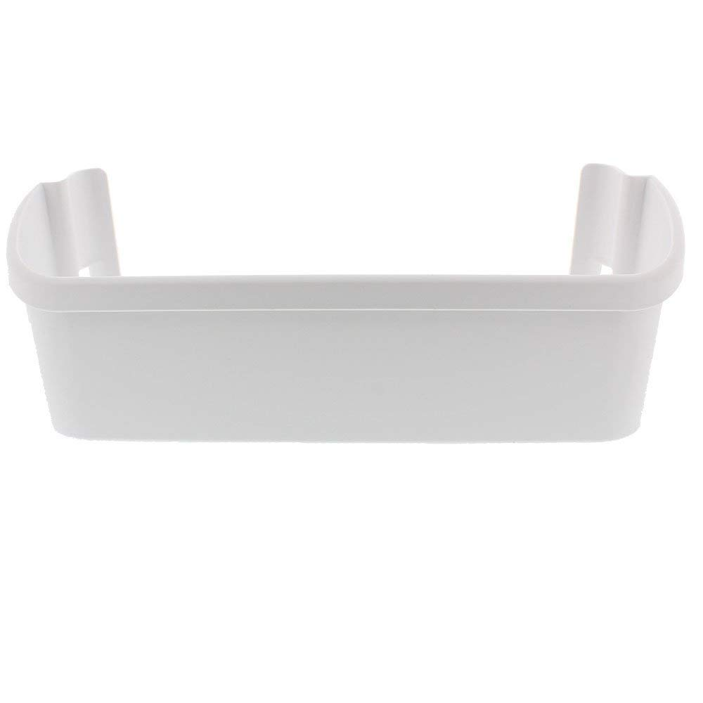 240323001 White Refrigerator Replacement Door Bin Side Shelf for Frigidaire Electrolux, Repalce 240323007, 890954, AP2115741, AH429724, EA429724, PS429724.
