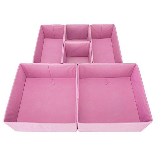 Clothes Organizer (Pink) - 1