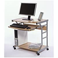 Berkeley Mobile Computer Desk, Natural