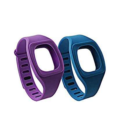 honecumi Compatible compatible with/replacement for Fitbit Zip Watch Band Wrist Strap Bracelet Colorful Replacement Bands(No Tracker)