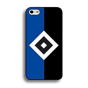 Hamburger Sportverein Phone Case,Simple Classical Bundesliga Hamburger Sportverein HSV Team Logo Custom Hard Case for iPhone 6 Plus/6s Plus 5.5 Inch