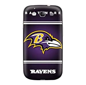 NFL Samsung Galaxy S3 S III Baltimore Ravens case Samsung Galaxy S3 AT&T SGH-I747 Fitted protector cases