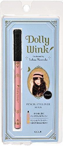 DOLLY WINK Pencil Eyeliner, Black