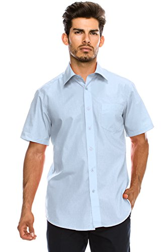 Top 10 Non-Iron Short Sleeve Men's Shirts for Office Work 2019-2020 - cover