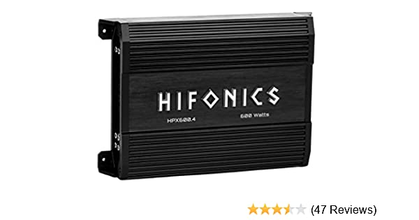 Amazon.com: HIFONICS APOLLO HPX600.4 APOLLO SERIES 600W 4 CHANNEL SPEAKERS AMP CAR AUDIO STEREO 4/3/2 CHANNEL OPERATION AMPLIFIER: Car Electronics