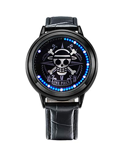Wildforlife Anime One Piece Straw Hat Pirates Luffy Collector's Edition Touch LED Watch (Best Straw Hat Pirate)
