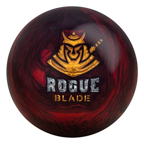 Motiv Rogue Blade Bowling Ball, Size 16.0, Red/Black (Bowling Balls Motiv)