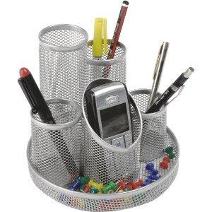 Osco Pro Range Schreibtisch Organizer Ordnungshelfer Metall Silber