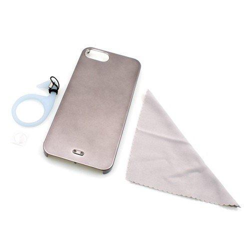 System-S Hülle Protector Case Cover Tasche Schutzhülle mit Ständer in Schwarz für iPhone 5