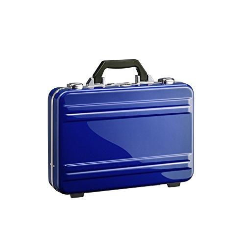Zero Halliburton 2.0 Small Classic Framed Polycarbonate Attaché Briefcase, Blue, One Size by ZERO Halliburton