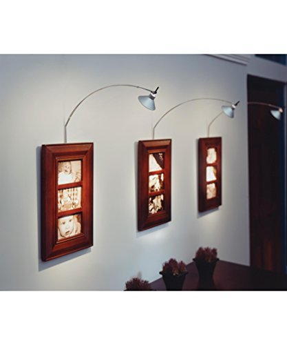 Tech Lighting 700JOSCPB, Joshua Low Voltage Wall Picture Lights Lighting, Halogen, Black