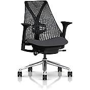 Herman Miller Sayl Task Chair: Tilt Limiter - Adj Lumbar Support - Adj Seat Depth - Height Adj Arms - Standard...