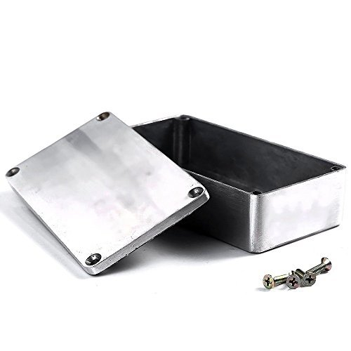 E Support 1590B 115x65x35mm Aluminum Metal Stomp Box Case Enclosure Guitar Effect Pedal
